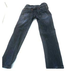 Mini Boden adjustable dark/medium jeans sz 8 years
